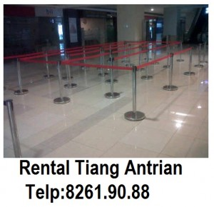 rental tiang antrian murah Jakarta (1)