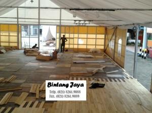 Flooring dengan menggunakan KAYU