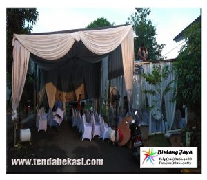 tenda konvensional wedding