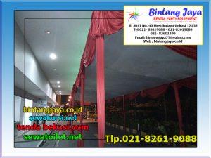 Menyewakan Tenda Plafon Wilayah Bekasi