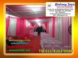 Menyewakan Tenda Dekorasi Serut Pernikahan Bekasi