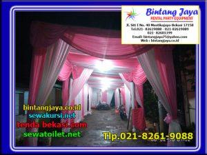 Menyewakan Tenda Dekorasi Serut Dan Tenda Plafon Di Bekasi