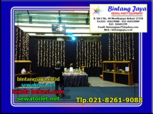 sewa black curtain