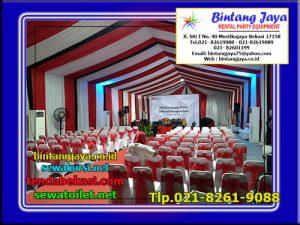 Tenda Roder Dekorasi serut Acara 3M