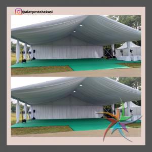 sewa tenda roder dekorasi serut putih jabodetabek
