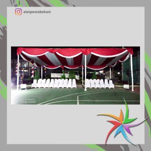 Pusat sewa tenda dekorasi serut Pademangan Jakarta Utara