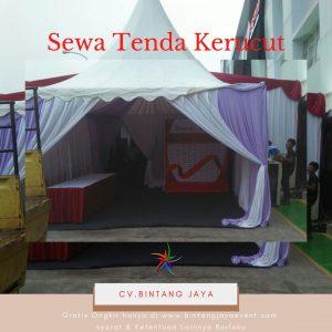 Sewa Tenda Kerucut Posko Informasi