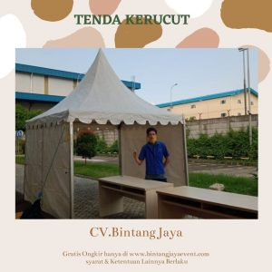 Sewa Tenda Kerucut Event NewNormal