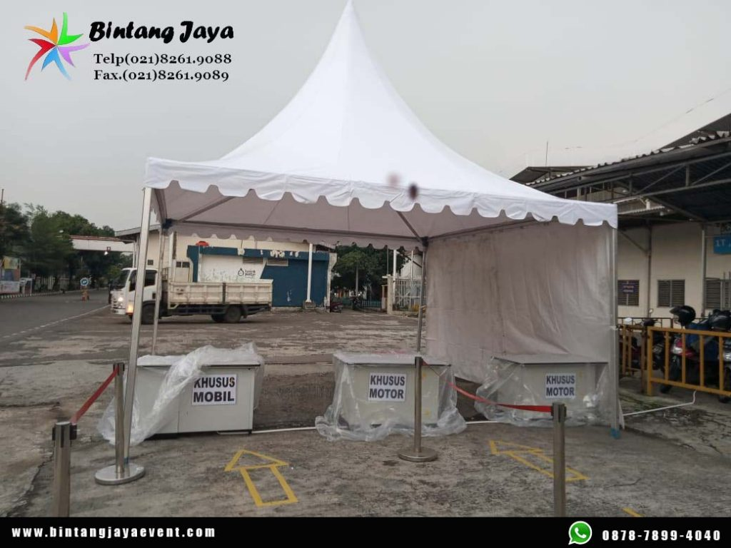 Sewa Tenda Kerucut 5x5 Tangerang murah