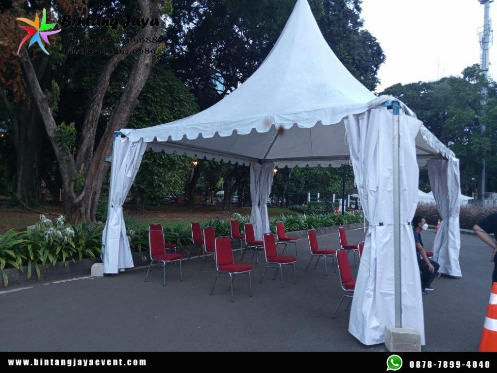 Sewa Tenda Kerucut Orginal Jakarta Murah Kokoh dan Kualitas Premium