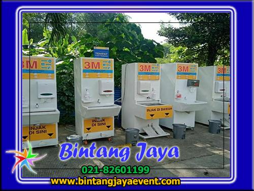 Rental Wastafel Cuci Tangan Portable Bekasi