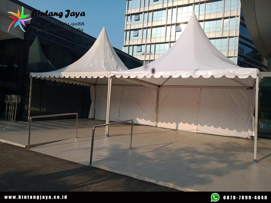 Sewa Tenda Kerucut 5x5 Original Kokoh dan Bersih