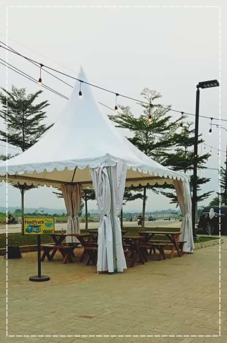 Rental Tenda Kerucut Bazar Podomoro