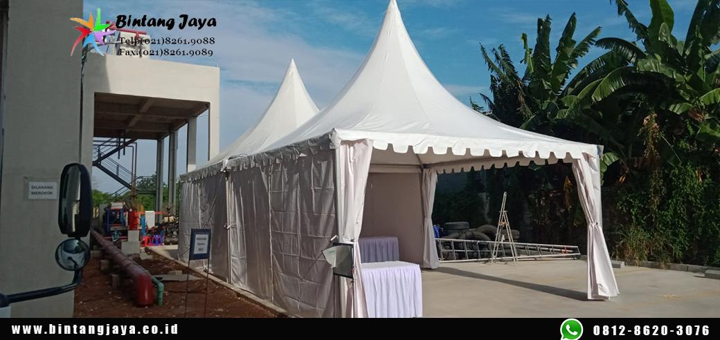 Sewa Tenda Sarnafil Paket Hemat & Berkualitas promo Terbaru Tangerang